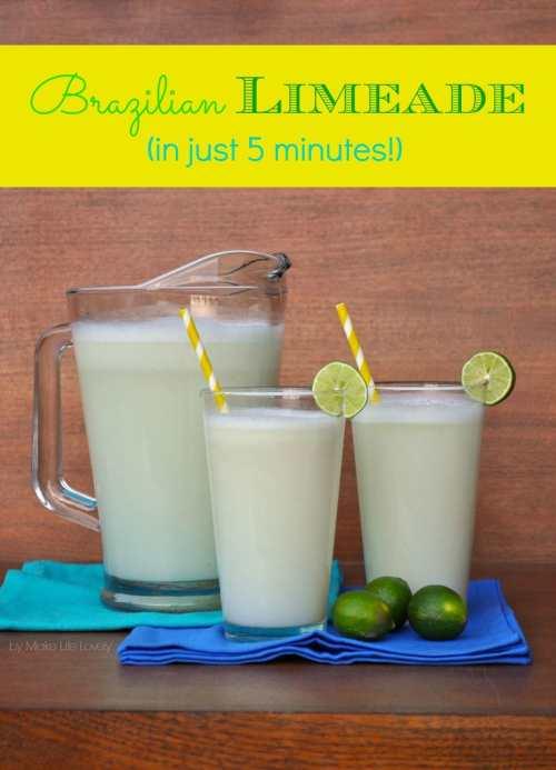 Brazilian Limeade Recipe