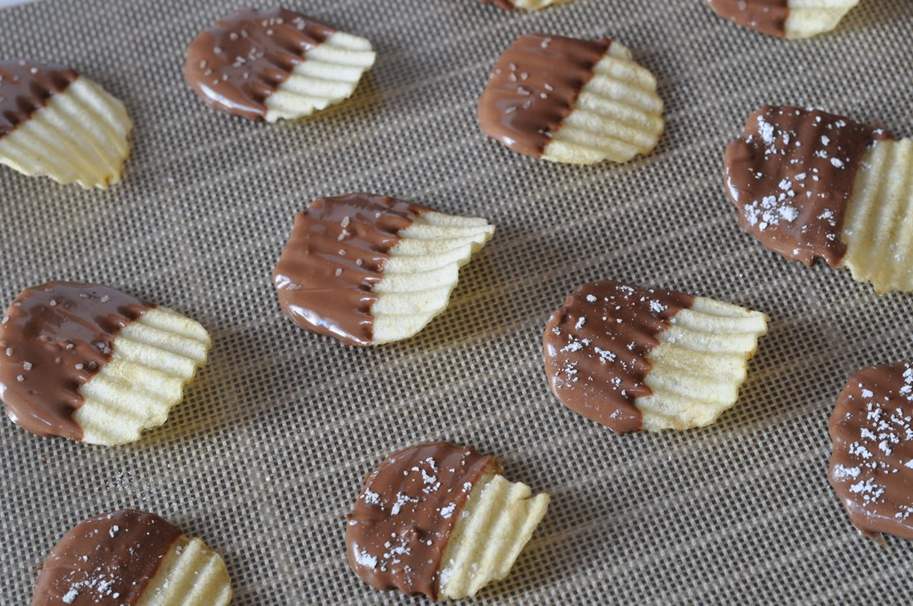 Chocolate Covered Chips Recipe - Make Life Lovely