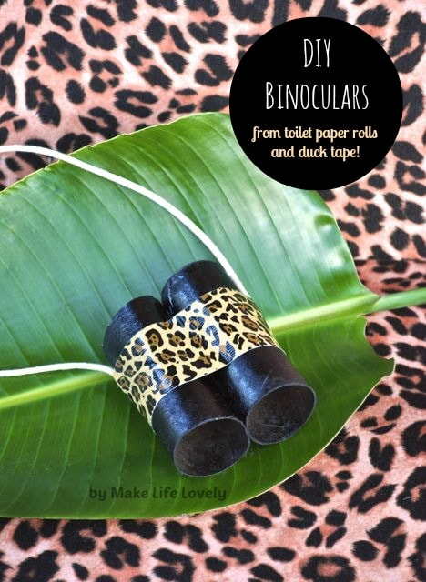 DIY Binoculars for Kids