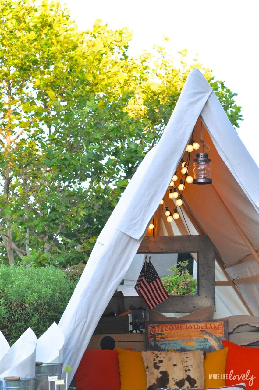 Gl&ing Ideas | by Make Life Lovely & Glamping Tips and Ideas - Make Life Lovely