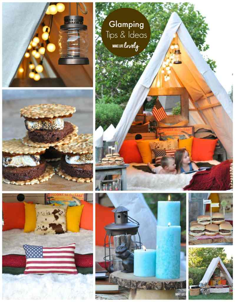 Glamping Tips and Ideas | by Make Life Lovely