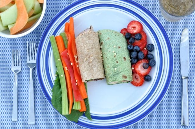 Wraps recipe ideas