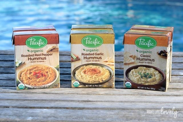Pacific Foods Hummus cartons