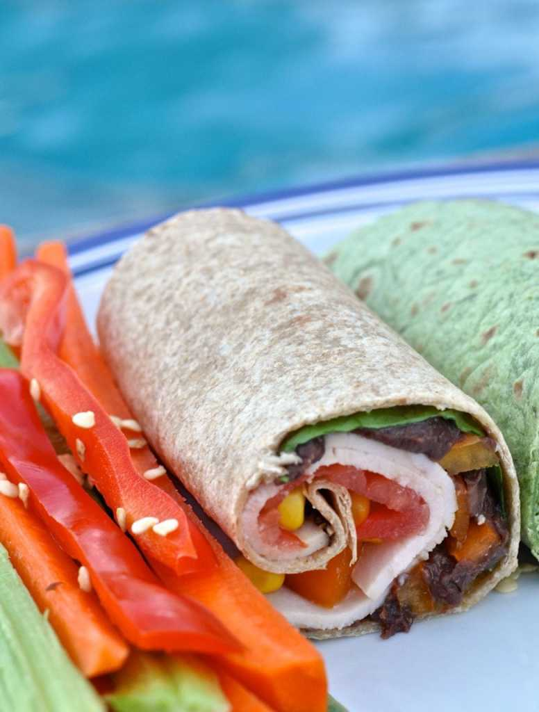 Southwest Chicken Wrap Recipe