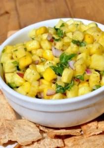Spicy Pineapple Mango Salsa