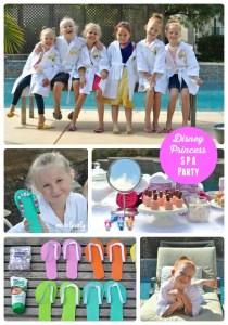 Princess Makeover Spa Party