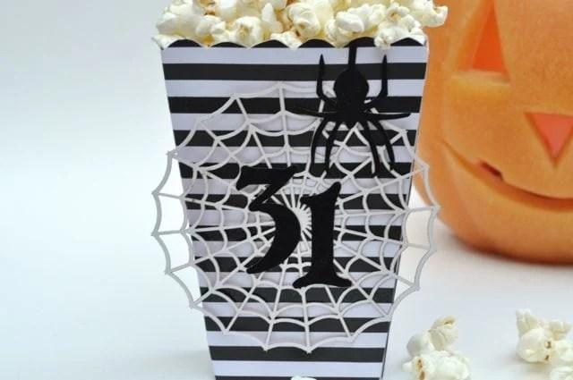 Halloween popcorn box 3
