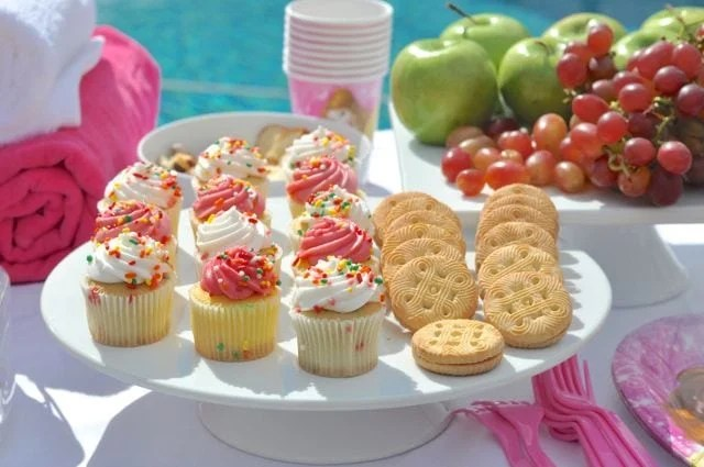 Spa party food ideas
