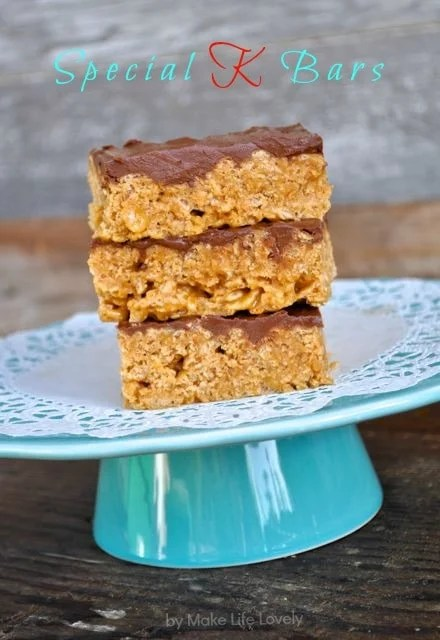 Special+K+Bars+Recipe+by+Make+Life+Lovely