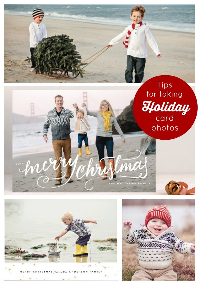Tips for Taking Holiday Card Photos