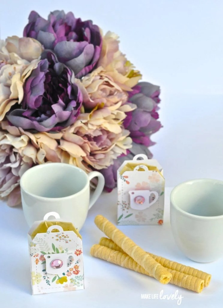 SIzzix Tea Bag Gift Bags by Make Life Lovely