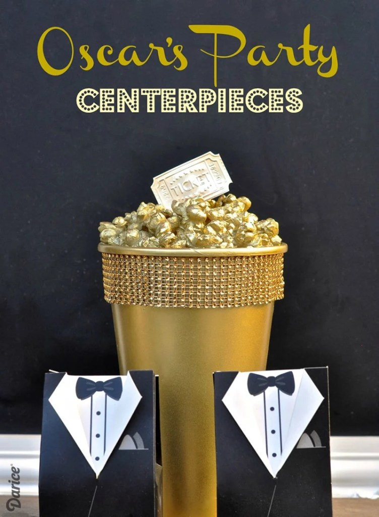 Oscar's Party Centerpiece DIY