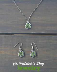 DIY St. Patrick's Day Jewelry