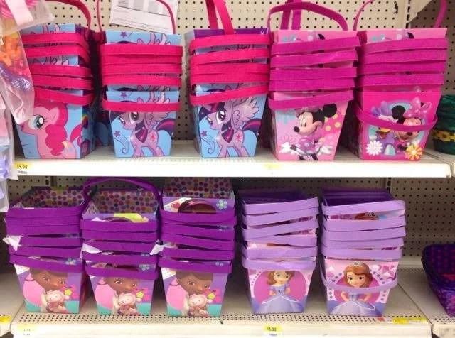 Disney baskets at Walmart