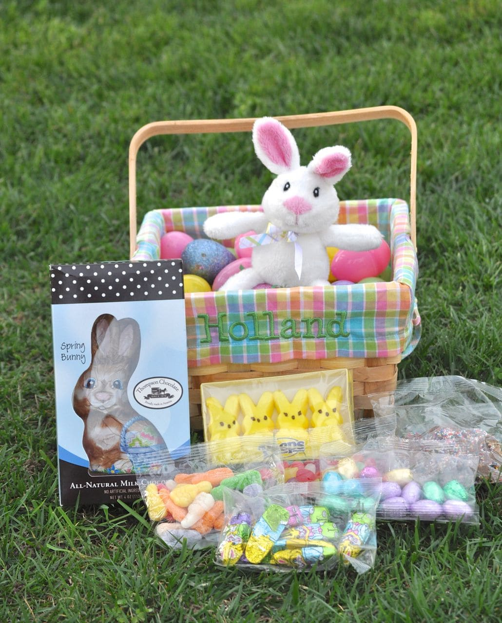 Our annual easter egg hunt make life lovely easter baskets from personal creations an amazing online retailer that has all kinds of cute gifts for the holidays and special occasions negle Image collections