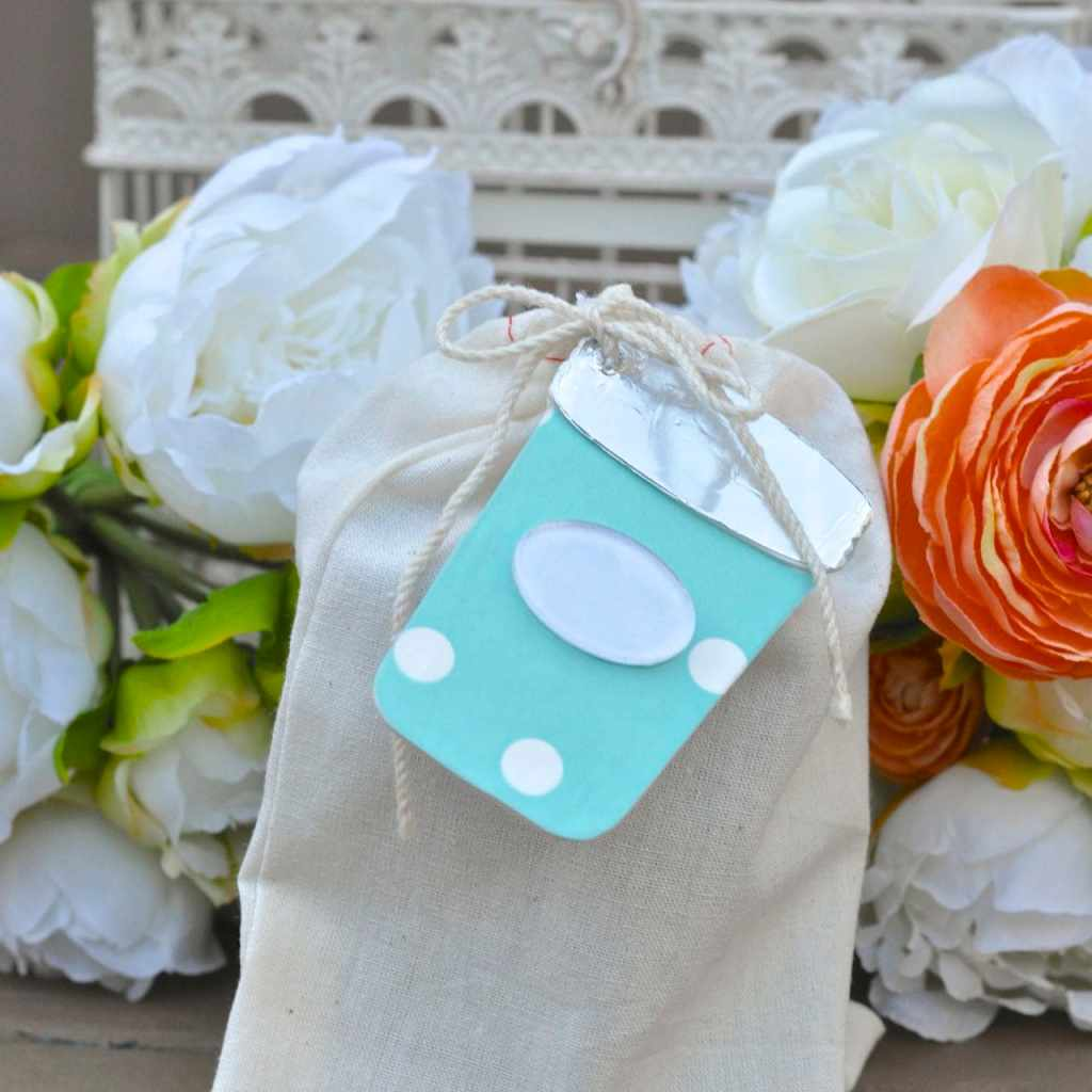 Sizzix Canning Jars die gift tag
