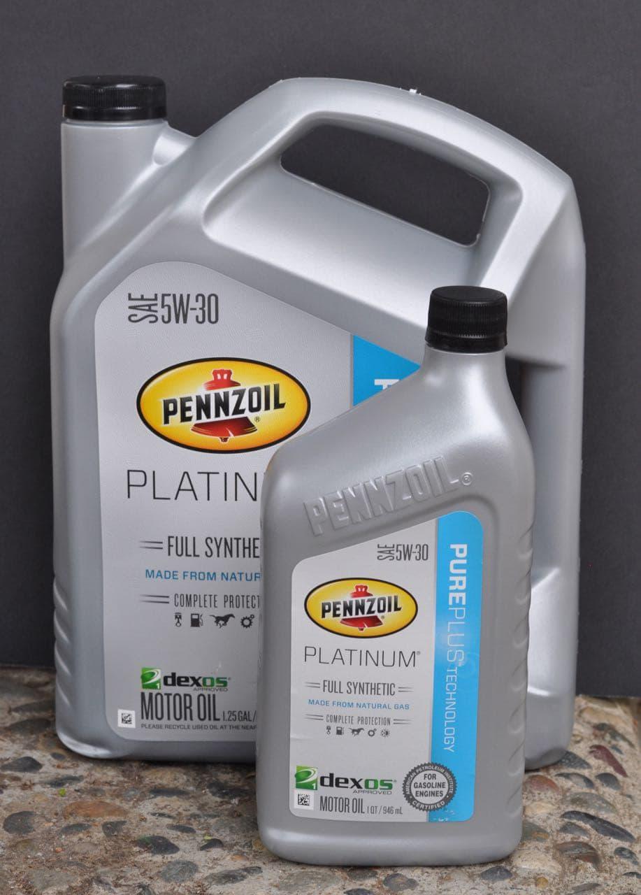 Pennzoil Platinum Full Synthetic motor oil