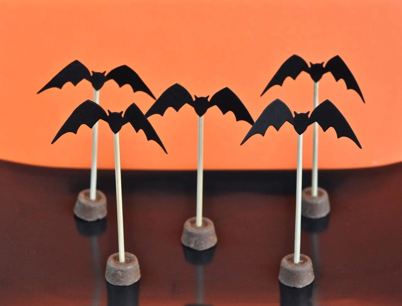 cute halloween bat toppers make life lovely