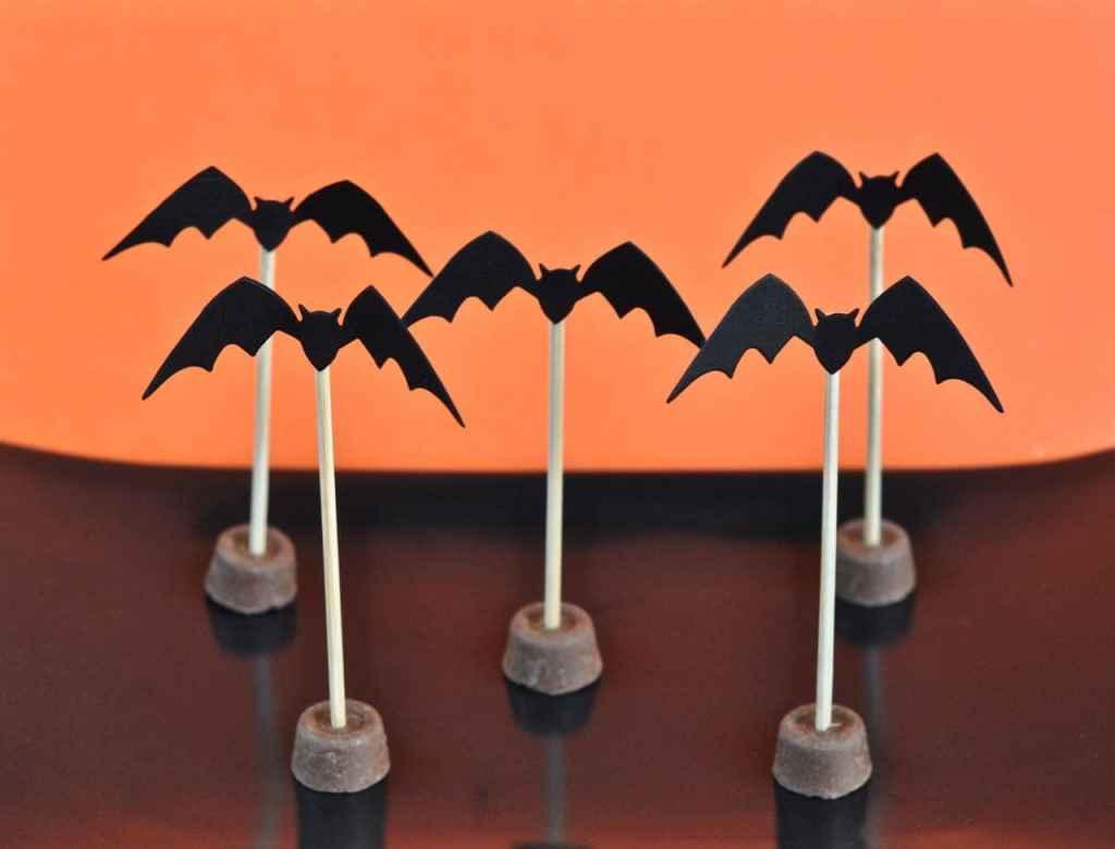 Halloween Bat Toppers