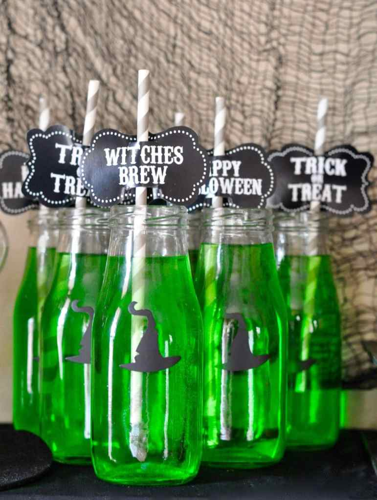 Halloween Witch Party Drinks