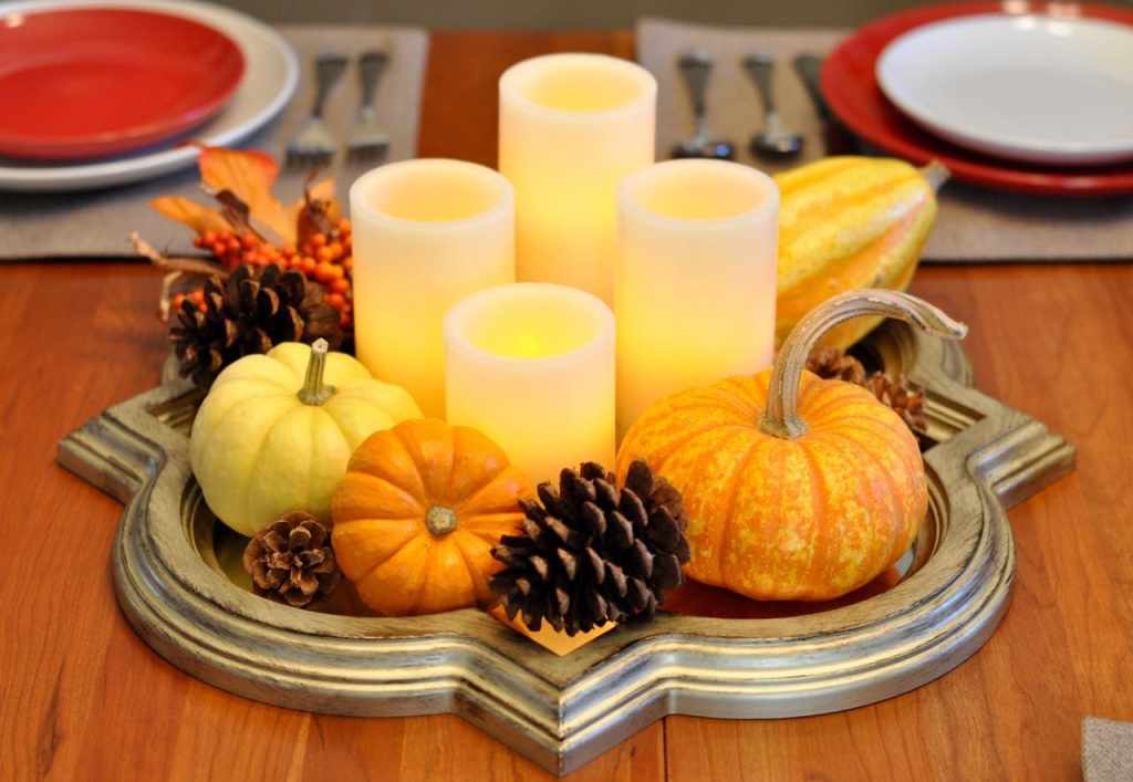 Thanksgiving centerpiece idea