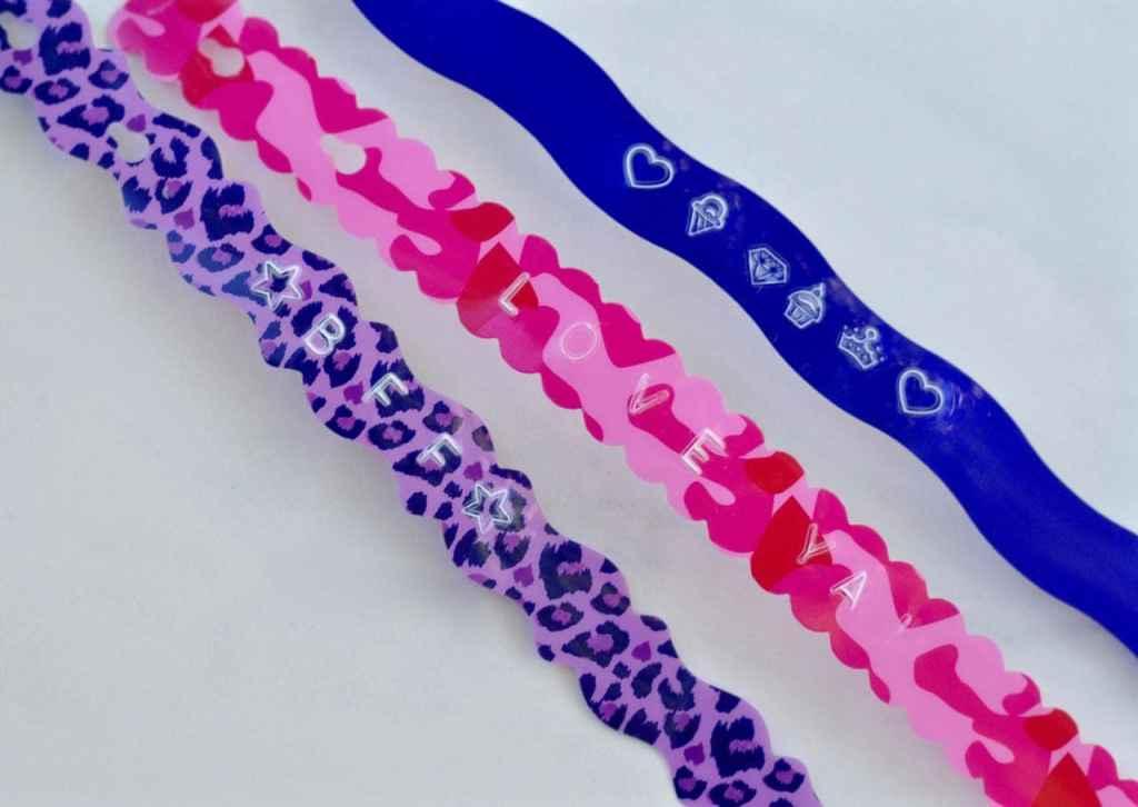 DIY personalized bracelets