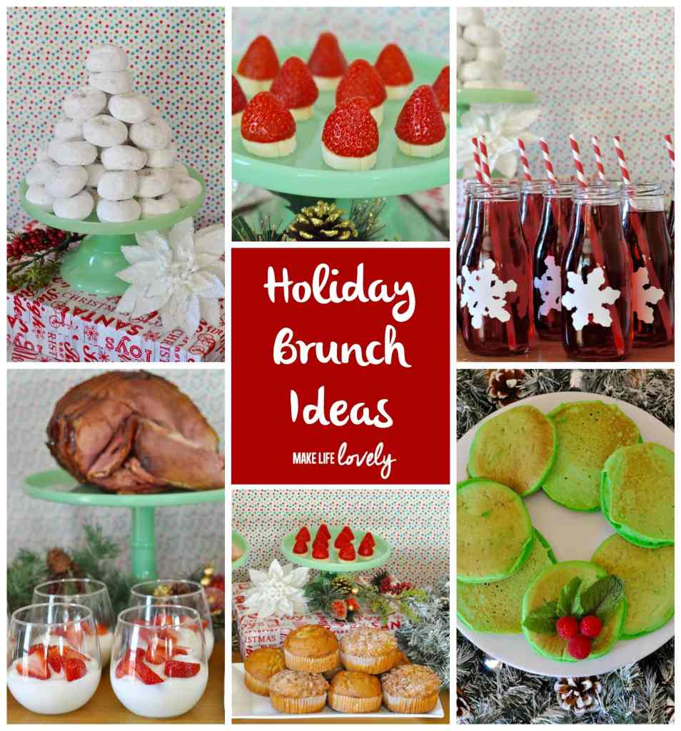 Christmas breakfast and holiday brunch ideas