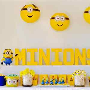 Minions Party + DIY Minions Paper Lanterns