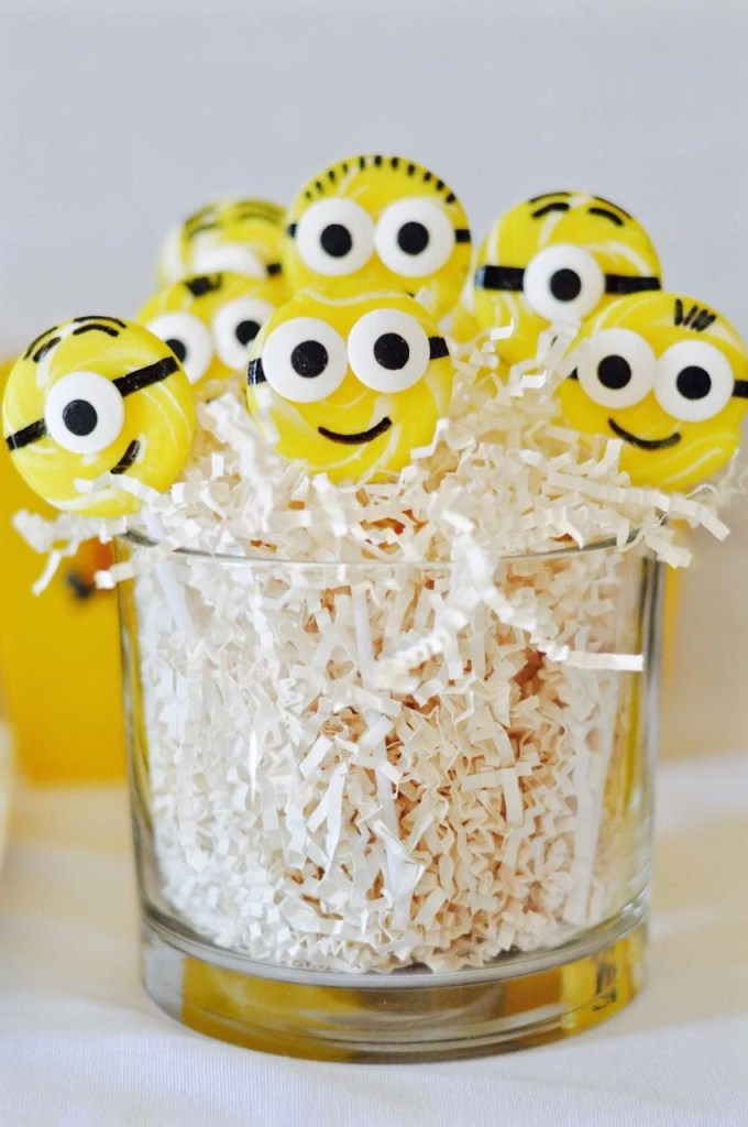 Easy Minions Suckers for a Minions Party