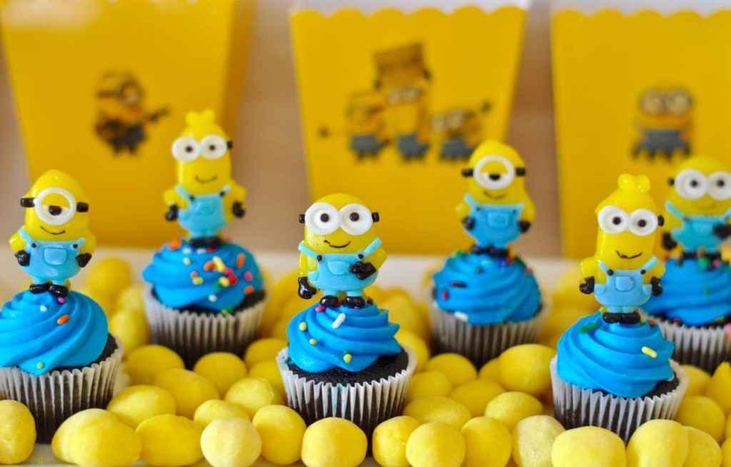 Minions cupcakes tutorial