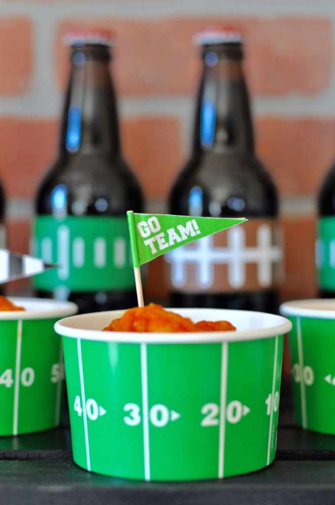 Food ideas for a football party