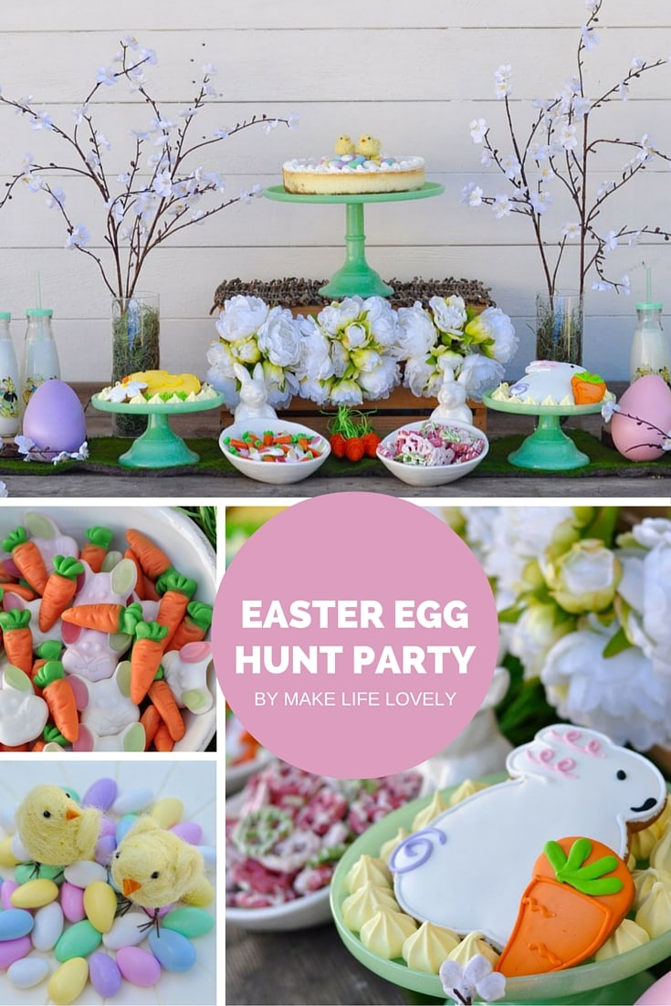 Easter Egg Hunt Party by Make Life Lovely