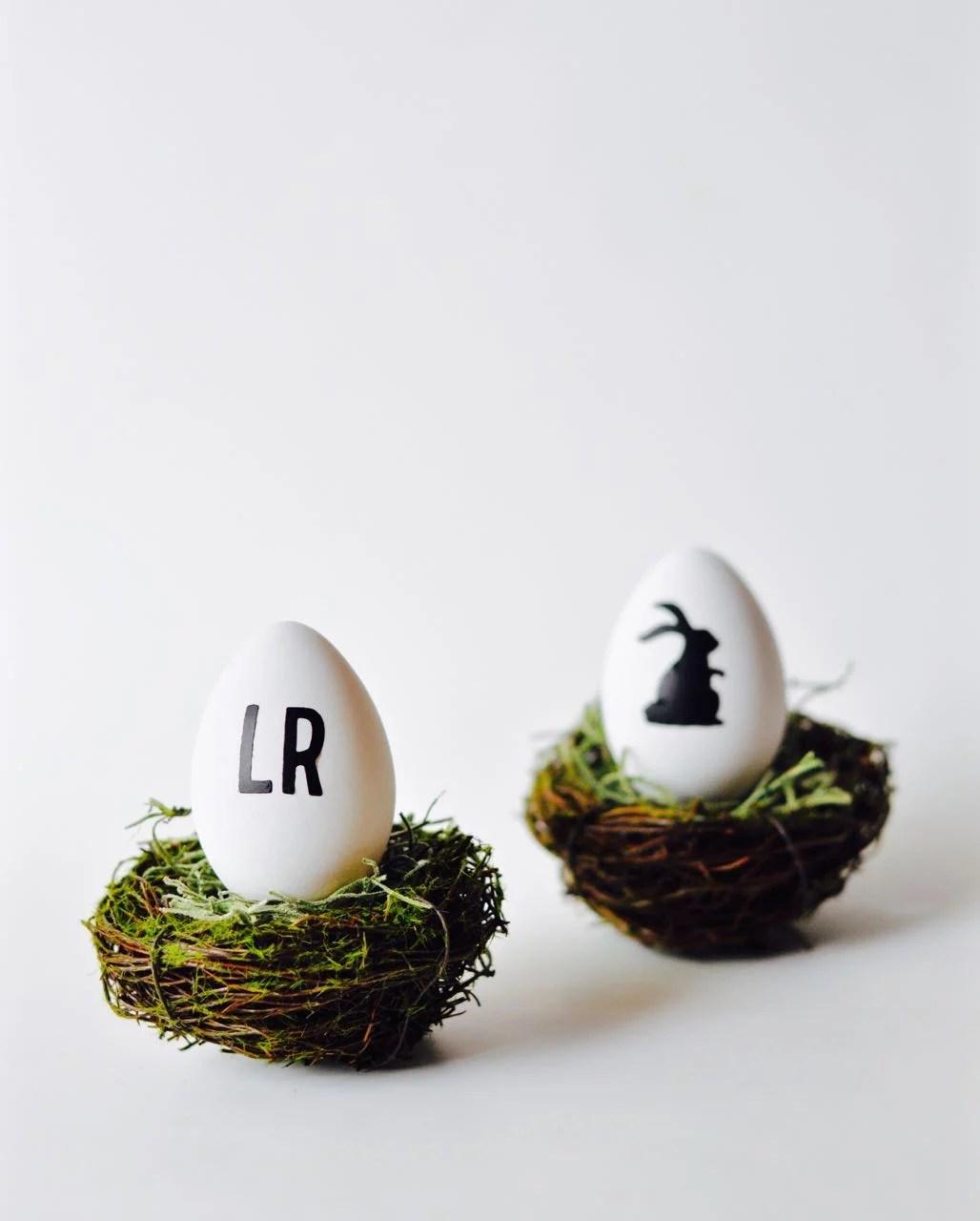 How to make vinyl Easter eggs