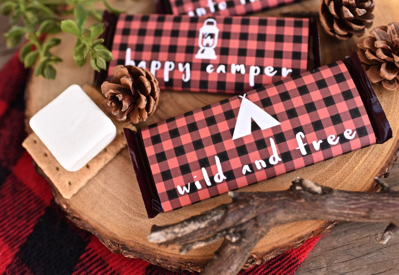 Backyard camping party free printables
