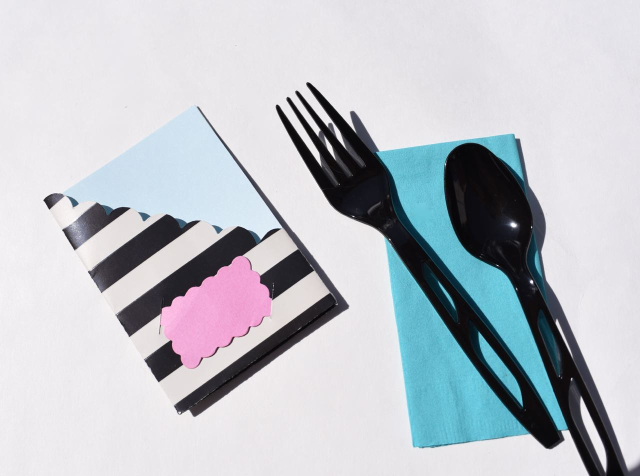 Sizzix paper utensil holders