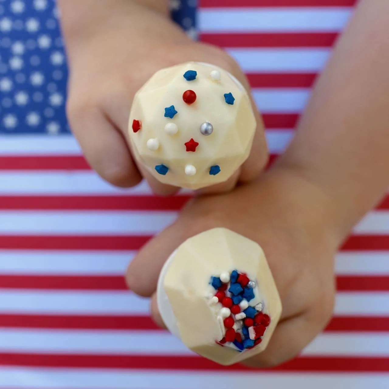 Patriotic DIY Ring Pops
