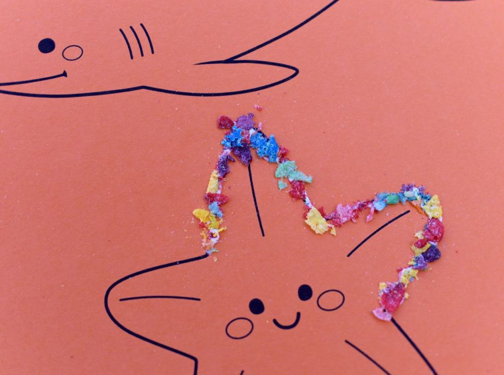 Ocean animal craft for kids