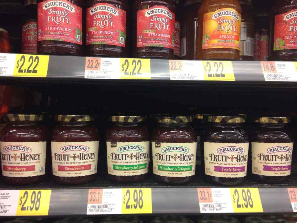 Smucker's Strawberry Jalapeno Fruit Spread at Walmart