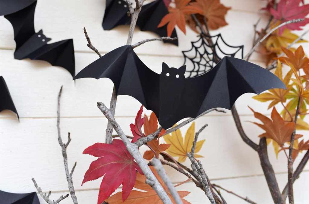 Bat decorations for Halloween