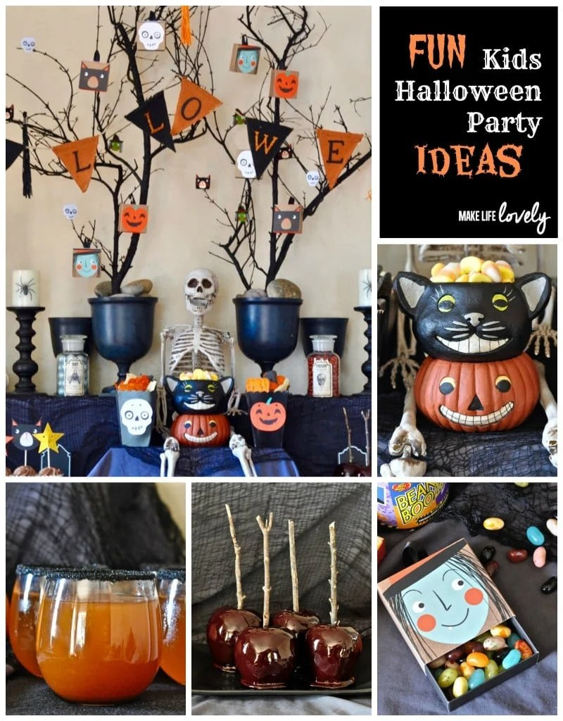 Free halloween party invitation printables make life lovely - Kids halloween party decoration ideas ...