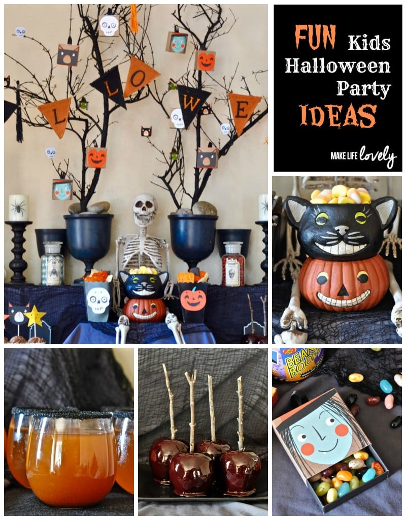 Free Printable Halloween Party Ideas and Supplies. Show little ghouls and goblins (and big ones, too!) a howling good time with these free Halloween printables – guaranteed to take your party from ordinary to extraordinary! With so many great Halloween party ideas, you can't go wrong!