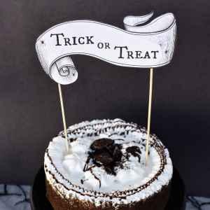 Free Printable Halloween Cake Topper