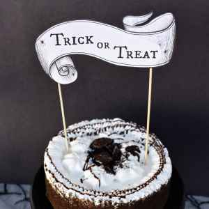 Free Printable Halloween Cake Topper