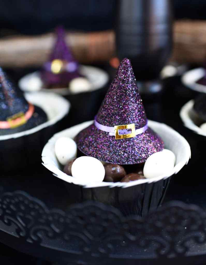 Witch Halloween party snack ideas