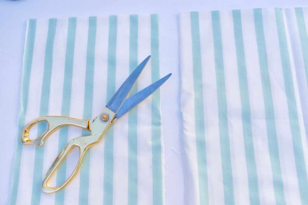 No sew fabric bag tutorial