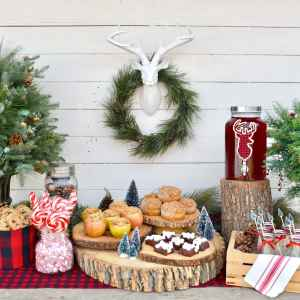 Rustic Holiday Party + Apple Pie in Apples