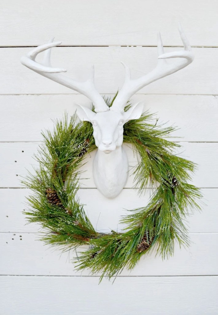 Rustic holiday party decorations