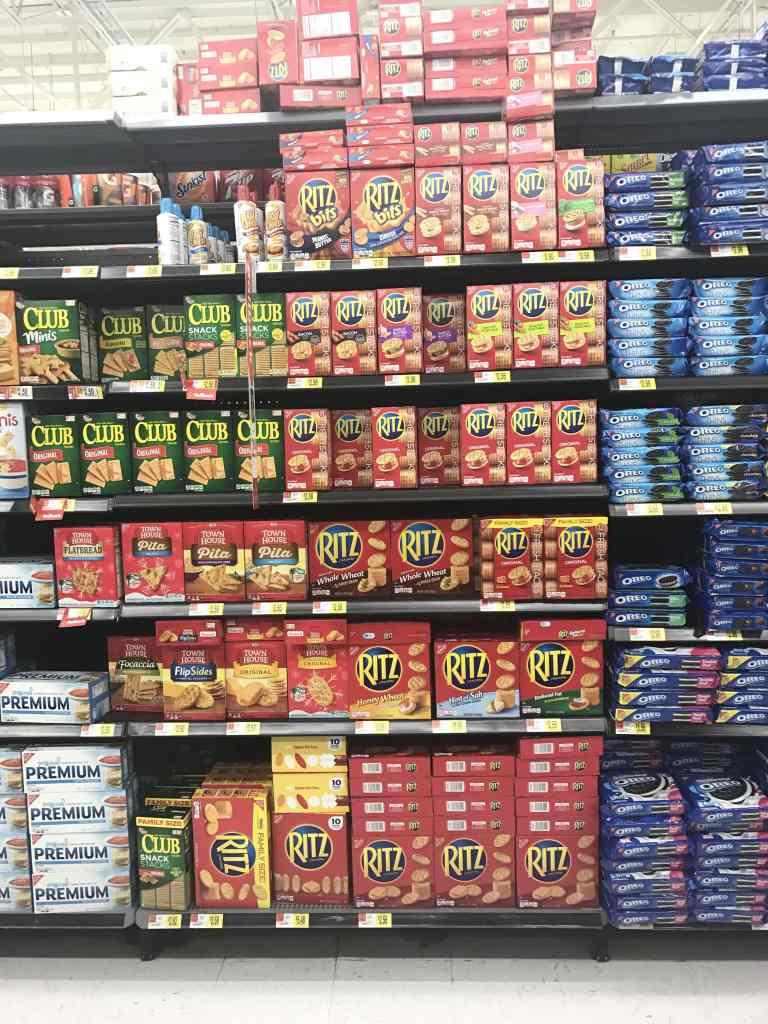 RITZ Crackers at Walmart