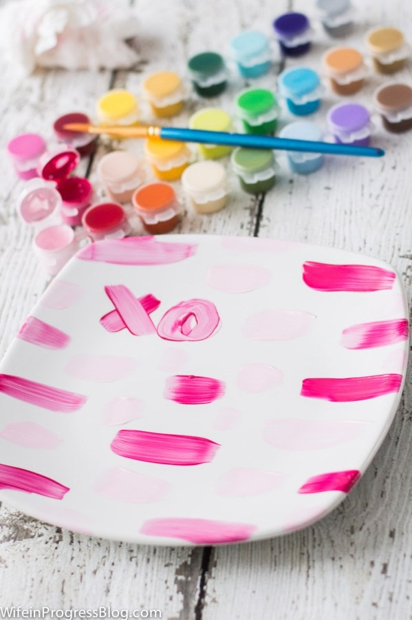 painted-plate-valentines-craft-5