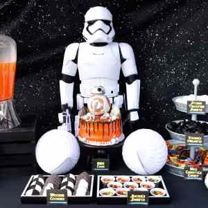 Star Wars The Force Awakens Birthday Party